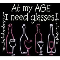 AGED GLASSES