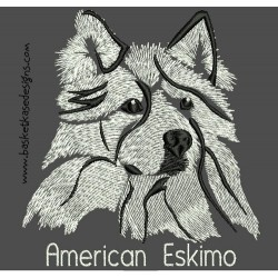 AMERICAN ESKIMO COLORWASH