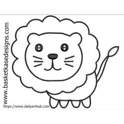 APPLIQUE LION