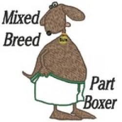 BOXER MIX APPLIQUE