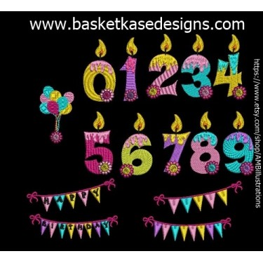 CANDLE NUMERIC