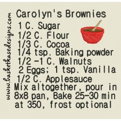 CAROLYNS BROWNIES