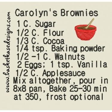CAROLYNS BROWNIES