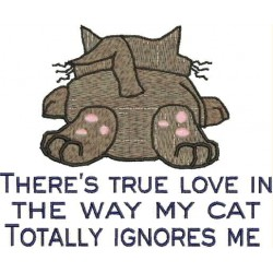 ADORING CAT