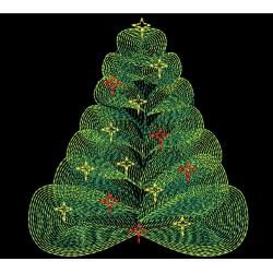 CHRISTMAS TREE RIPPLED