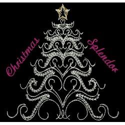 CHRISTMAS TREE SWIRLS