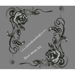DECO ROSE FRAME