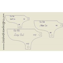 DOG COAT PATTERNS (3 SIZES INCLUDED)