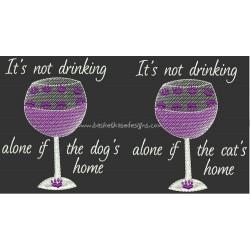 DRINK ALONE