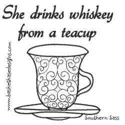 DRINKS TEA CUP