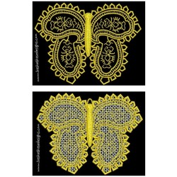 FSL BUTTERFLY LACE SET 2