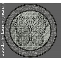 FSL AND APPLIQUE BUTTERFLY