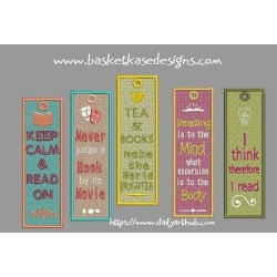 FSL BOOK MARKER SET (SET OF 5 DESIGNS)