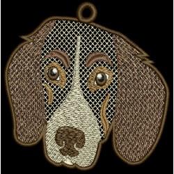 FSL DOG HEAD