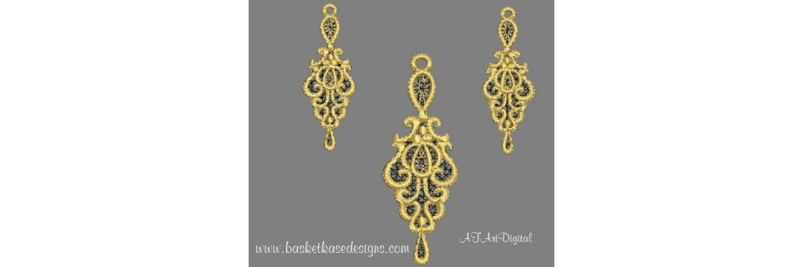 FSL DIVA EARRING NECKLACE
