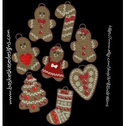 FSL GINGER COOKIE SET (SET OF 8)