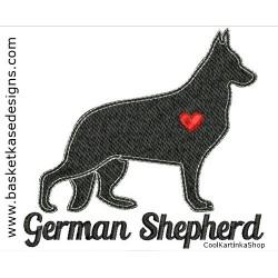 GERMAN SHEPARD SIL