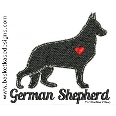 GERMAN SHEPARD SIL