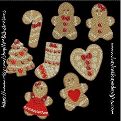 GINGER COOKIE SET (SET OF 8)