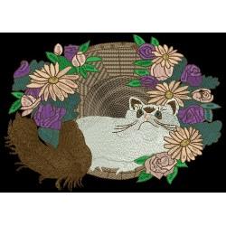 JUMBO FLOWER CAT