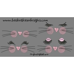 KITTY KISSES SET