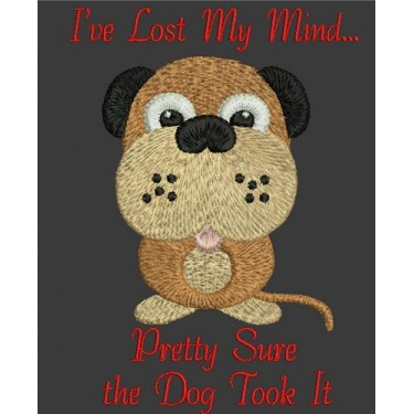 LOST MIND DOG