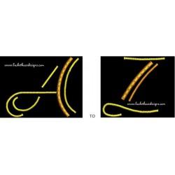 NEON ALPHA (A Thru Z)