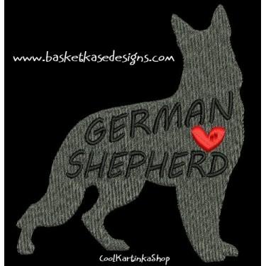 PROFILE GERMAN SHEPARD