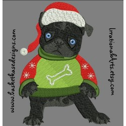 PUGLY CHRISTMAS SWEATER 3