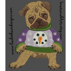 PUGLY CHRISTMAS SWEATER 2