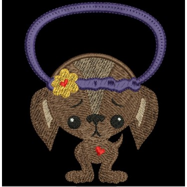 PUPPY LOVE TOWEL TOPPER