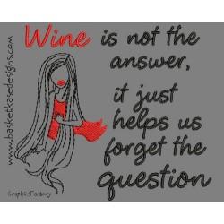 SAD WINE QUESTION