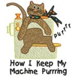 SEW MACHINE CAT