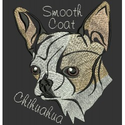 SMOOTH COAT CHIHUAHUA COLORWASH