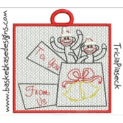 SOCK MONKEY GIFT CARD