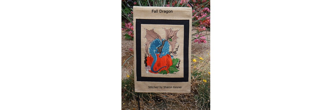 FALL DRAGON  BY SHARON KESSNER