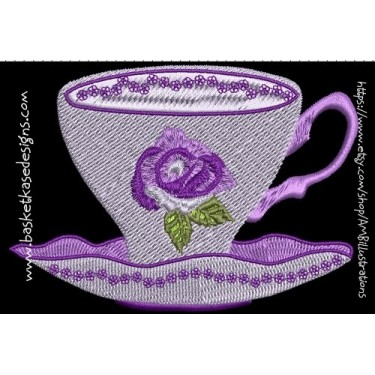 TEA ROSE CUP