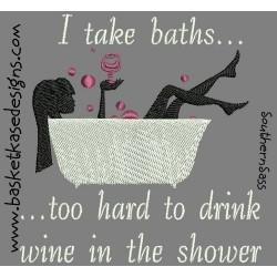 SAD WINE BATH
