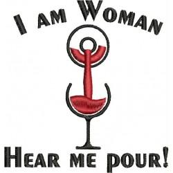 WOMAN POUR