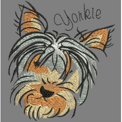 YORKIE COLORWASH