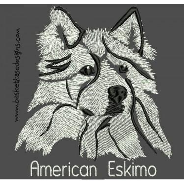 AMERICAN ESKIMO COLORWASH