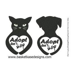 CAT DOG ADOPT SET