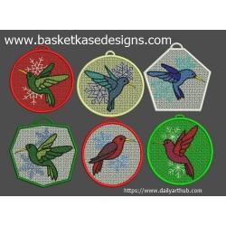 FSL BIRD SET (set of 6 designs)