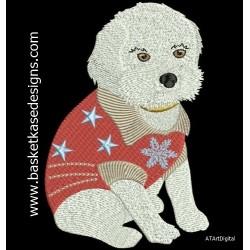 WINTER FUN DOG